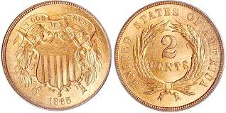 3 Cent Piece Value Chart Two Cents Price Charts Coin Values