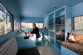 home office cabins. Via UULDesign Home Office Cabins