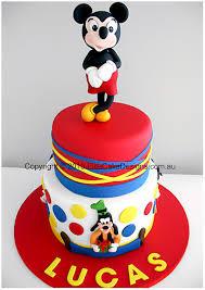 Mickey Mouse Birthday Cake Walt Disney Children Birthday Cakes 1st