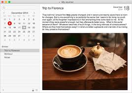 Mémoires - journal or diary software for <b>Mac</b>