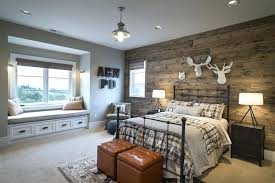 wood panel accent wall view full size cabin style boys bedroom features reclaimed wood panels on