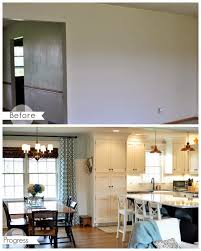 Kitchen Dining Room Remodel Opening Up A Kitchen Dining Area 2 Wall Removal Added An