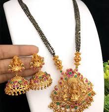 Temple Jewellery Locket Designs Top 110 Mangalsutra Designs Shaadisaga