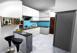 Modular Kitchen With Dining Design Kitchen Interior Design Modular Kitchen Designs Modern