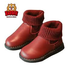 baby shoes girls boots high toe socks toddler girls pu leather boots children martin boots shoes