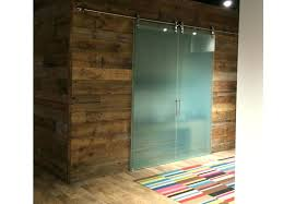 barn doors glass sliding for the office decor inspiration door lock