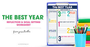 Goal Setting Worksheets for Kids & Adults | Free Printable