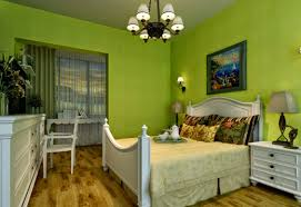 Green Bedroom Walls Layout The Modern Home Decor With Wall Paint ...