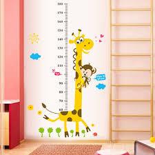 Zs Sticker Giraffe Wall Stickers Children Home Decor Cartoon Wall Decal Wall Sticker For Kids Room Baby Nursery