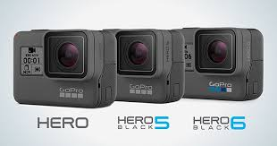 Gopro Hero 5 Comparison Chart Difference Between Gopro Hero 5 And Hero 6 Difference Between