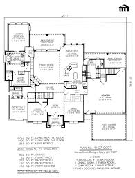 Small 5 Bedroom House Plans Amazing Stylish 5 Bedroom House Plans Single Story House Plans