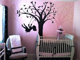 lamp baby girl nursery ideas gray pink fl curtain white table lamp l shade