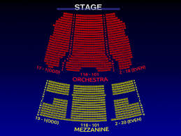 Theater Seating Chart Template Stage West Calgary Seating