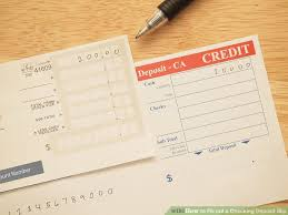 deposit slip examples how to fill out a checking deposit slip 12 steps with pictures