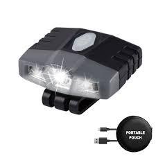 Best Hat Clip Light Details About Lhotse Portable Mini Hands Free Led Clip On Cap Light Rechargeable Up To 96