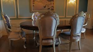 dining room table chairs interior victorian gothic revival style background stock video fooe videoblocks