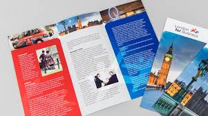 How To Make A Digital Flyer Leaflet Printing Flat And Folded Leaflets By