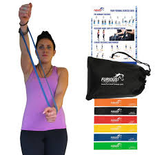Stretch Band Loops Exercise Chart Buy Furious Fitwear Mini Loop Bands 6 Resistance Loops