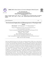 pdf towards a sustainable waste management