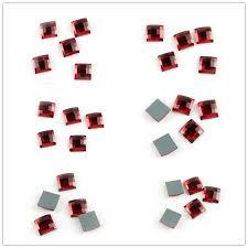 Various Sizes <b>Square Siam</b> Lens Fancy Stone <b>Sewing Crystal</b> ...