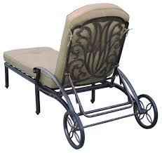 Darlee Elisabeth Patio Chaise Lounge Mediterranean Outdoor Fascinating Darlee Patio Furniture Minimalist
