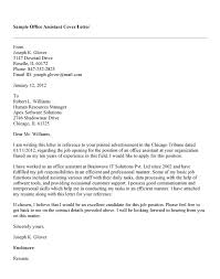 Sample Of Resume Cover Letter For Administrative Assistant     SlideShare Office Assistant Cover Letter