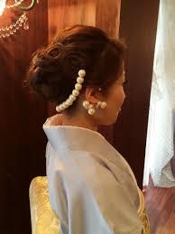 着物 ヘアスタイル 結婚式 親族 美しい髪