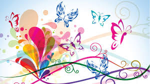colorful butterfly wallpapers. Interesting Colorful Abstract Colorful Butterfly On Wallpapers S