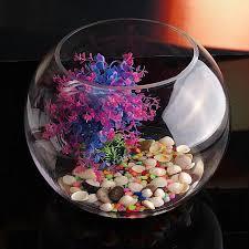 generic 30cm round clear gl vase