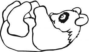 Small Picture Cute Coloring Pages Draw A Cartoon Panda 7 mosatt