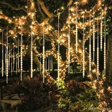 Diy Meteor Shower Lights 50cm 10 Tubes 540 Led Meteor Shower Rain Lights Waterproof Blue White Rgb Snowfall String Light For Wedding Christmas Party Tree Decoration Led String