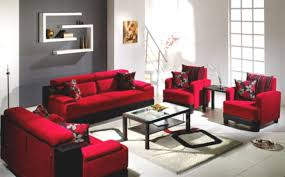 Living Room With Red Furniture Living Room Creative And Uniwue Sofa Car Gray Color Seating Red