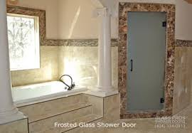 frosted glass shower enclosure. Frosted Shower Glass Doors Roswell Ga Enclosure
