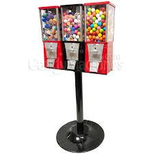 Bulk Vending Machines Inspiration Buy Eagle Three Head Metal Bulk Vending Machine With Stand Vending