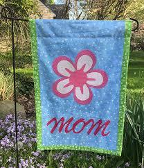 mother s day garden flag tutorial
