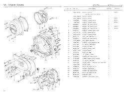 kz650 info b1 parts diagram engine covers