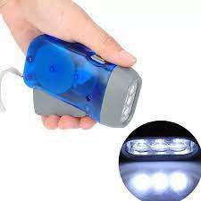 Đèn pin cầm tay mini có đèn LED chùm tia 20m, 240LM, bằng vỏ nhựa ABS bền,  dùng khi đi bộ đường dài hay cắm trại, giá tốt - INTL