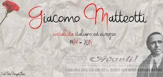 Giacomo Matteotti - Home