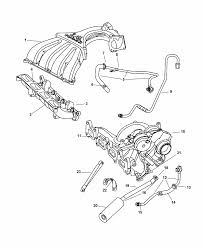 manifolds intake & exhaust for 2003 chrysler pt cruiser pt cruiser muffler cost at Pt Cruiser Exhaust Diagram