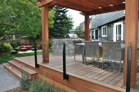 glass railing for decks glass railing system