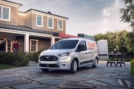 2019 ford transit connect x l t cargo van on home renovation job site