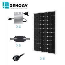 250 watt solar panel ebay Renogy Wiring Diagram renogy 1500 watts 1 5kw monocrystalline pv grid tied solar panel kit renogy wiring diagrams