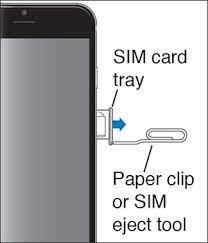 Remove a sim card from an iphone. Apple Iphone Se Insert Remove Sim Card Verizon