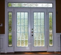 image of home exterior doors with sidelights