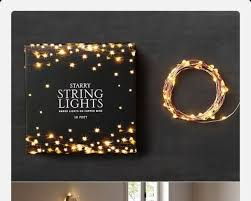 Firefly String Lights Delectable Makeup Fairy Lights Home Decor Home Accessory Lighting Fairy