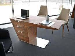 contemporary office desks for home. Computer Office Desk Modern Furniture Trendy Contemporary Study In Walnut Glass Desks For Home
