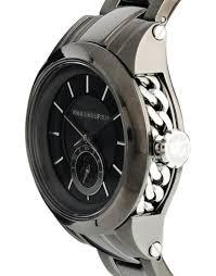 karl lagerfeld grey watch in gray for men lyst gallery