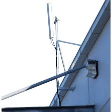 heavy duty galvanised wall building antenna mount offset various lengths