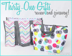 thirty one gifts organizing utility tote and thermal tote review