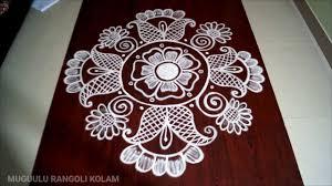 Said Design Muggulu Dasara Rangoli Designs Muggulu Designs Without Dots Images